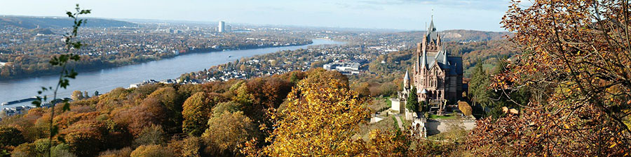 Apartment Hotels in Bonn close to the Drachenburg Castle