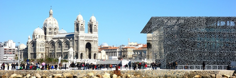 Apartment Hotels Europe Marseille Cathedral and MuCEM musuem