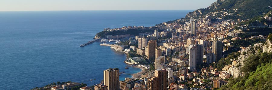 View on the apartment hotels in Monaco