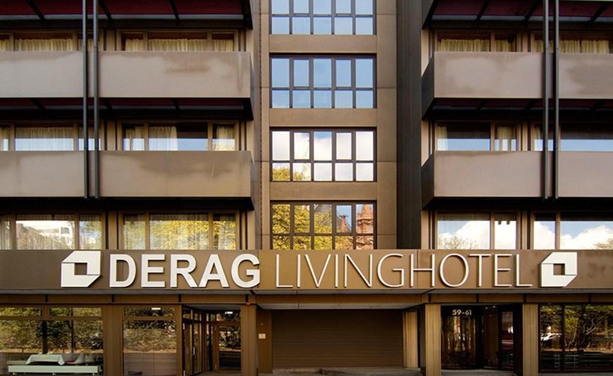derag livinghotel d sseldorf apartment hotel in dusseldorf. Black Bedroom Furniture Sets. Home Design Ideas