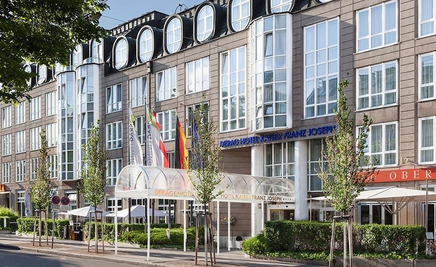 derag livinghotel kaiser franz joseph apartment in vienna. Black Bedroom Furniture Sets. Home Design Ideas